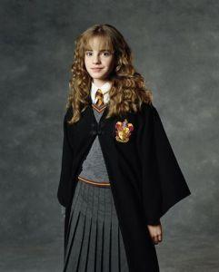 Emma Watson as Hermione Granger (2001-2011)