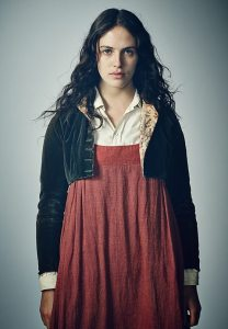 Jessica Brown Findlay as Mary Yellen in Jamaica Inn BBC mini series (2014)
