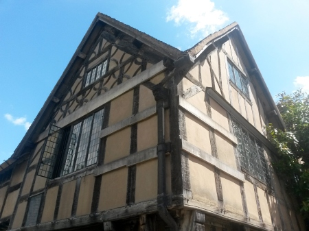 Halls Croft house, home of Shakespeare's daughter Susannah and her husband