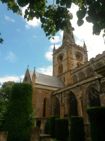 Holy Trinity Church, where Shakespeare was baptised, married and now the site of his grave