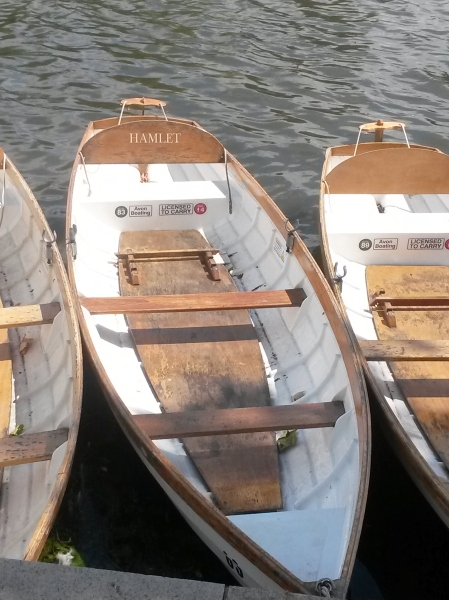Boats on the river named after Shakespeare's characters