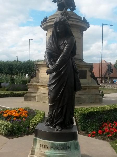 Statue of Lady Macbeth