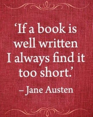 Image result for quotes on reading books jane austen