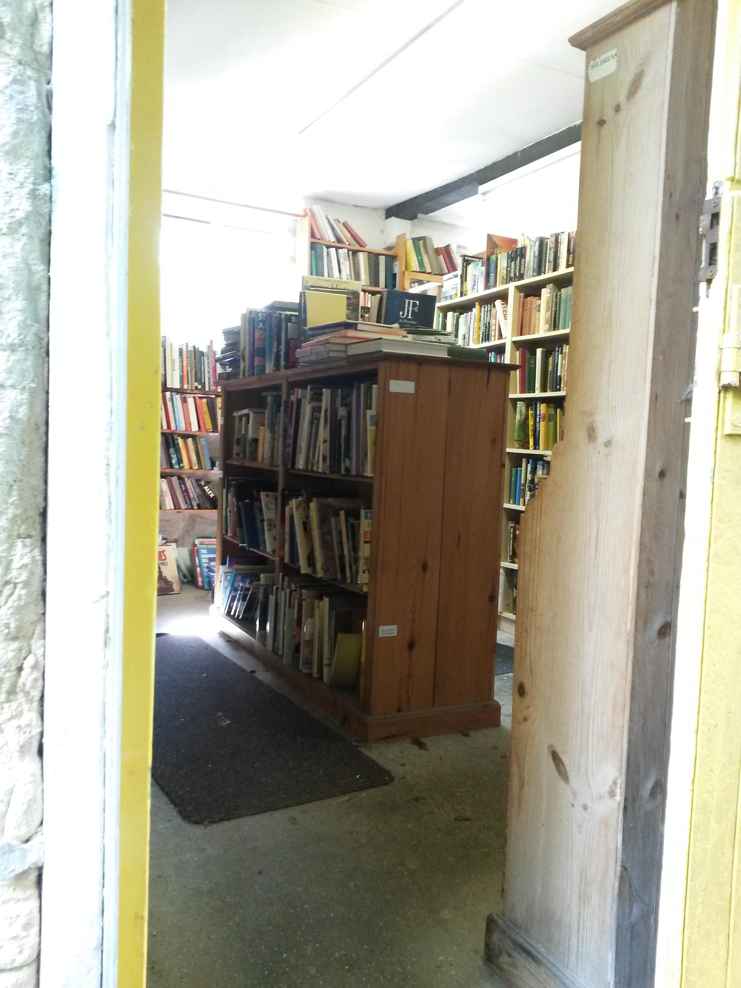 Ex libris bradford on avon books bird for Second hand sheds