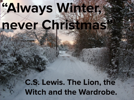 Advent 6 Lion witch and the wardrobe