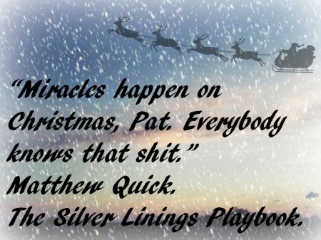 Advent 12 Silver Linings Playbook