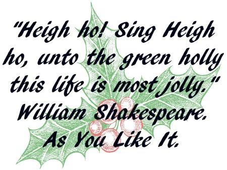Advent 13 As you Like it Shakespeare