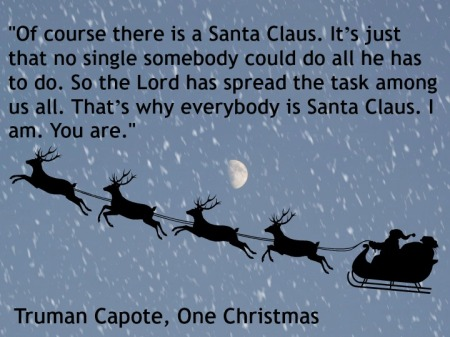 advent 17 One Christmas Truman Capote