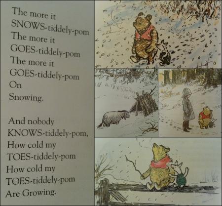 advent 2 Winnie the Pooh