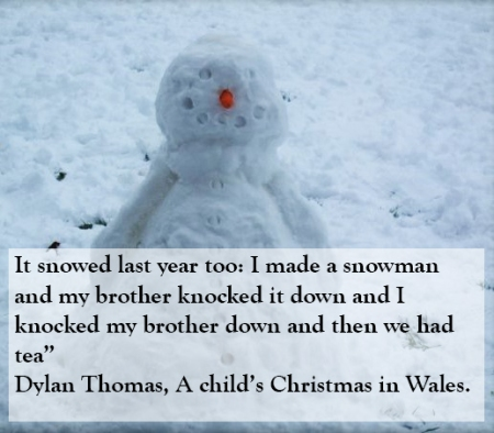 Advent 21 Dylan Thomas