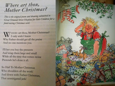 advent 3 Roald Dahl Mother Christmas