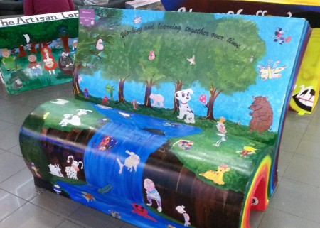 SMILE Bench - Forest Oak and Merstone School