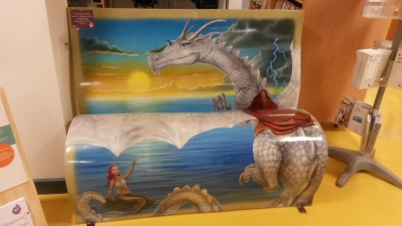 The Dragon Rider Bench- Helping us Fly into Reading - Little Sutton Primary School
